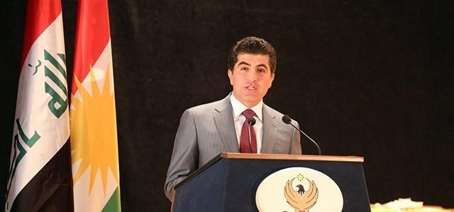 بارزاني:يجب تصحيح العلاقات بين مكونات الشعب العراقي
