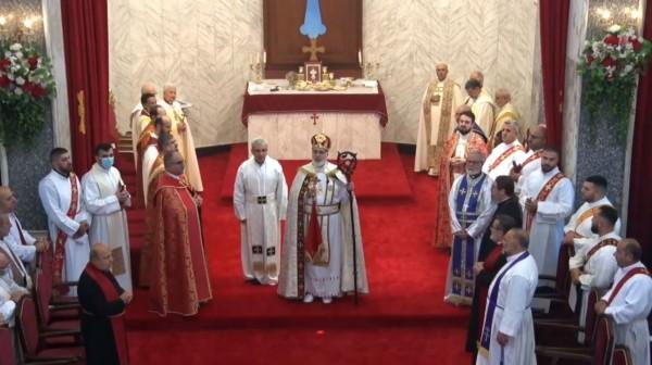 """مراسم تنصيب قداسة البطريرك مار آوا الثالث، بطريركاً على كنيسة المشرق النسطورية      عشتارتيفي كوم/     """"ليس أنتم اخترتموني بل Articles_image720210915071628Zsd8"""