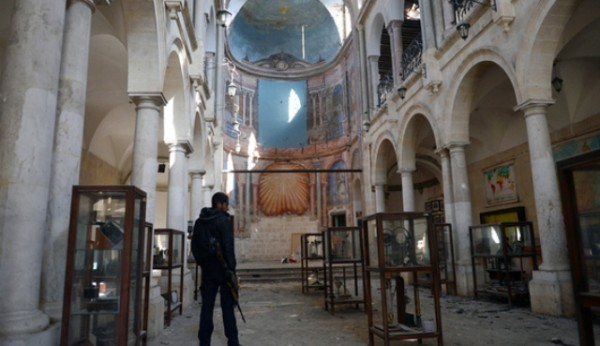 Aleppo s Christians see regime as last hope