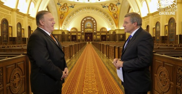 Pompeo Vows US to Stand with Persecuted Believers: 'Christians Central to Middle East'