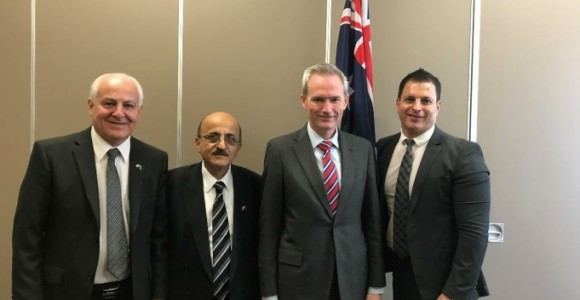 Assyrian Universal Alliance in Australia meets with the Hon. David Coleman MP