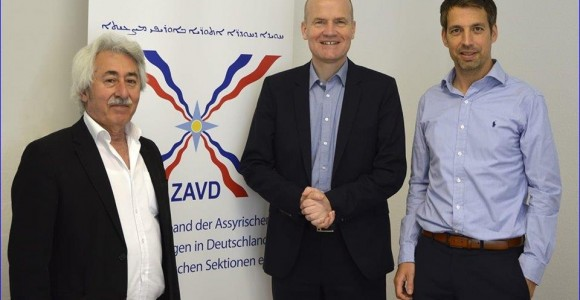 Assyrian Federation of Germany Meets With Chairman of Parliamentary Group