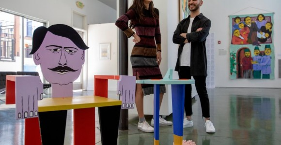 San Jose art show celebrating Assyrian-American experiences fuses an ancient history with contemporary life
