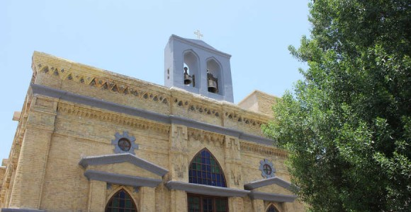 Basra church restored, but few Christians left to worship there