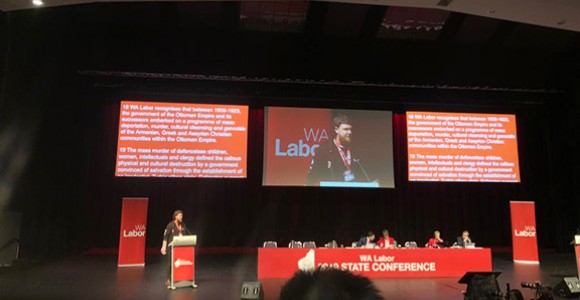 Western Australian Labor Conference Unanimously Recognizes Assyrian, Greek, Armenian Genocide