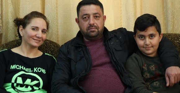 When an exiled Iraqi family found IS slogans in their house, it made them weep