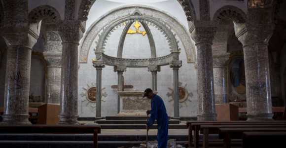 Christian Charity Working to Restore 14 Iraqi Churches Destroyed by ISIS