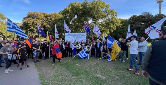 Assyrian National Council - Australia participation in the march for justice 2021