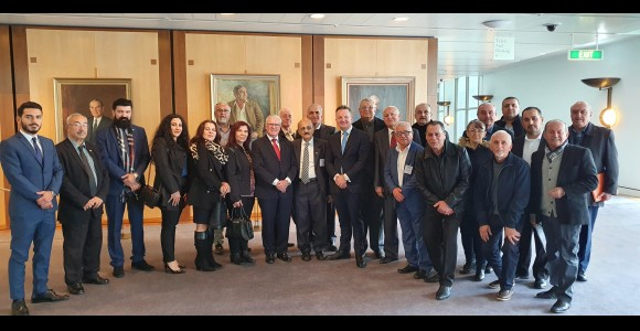 Parliament of Australia passing Assyrian motion